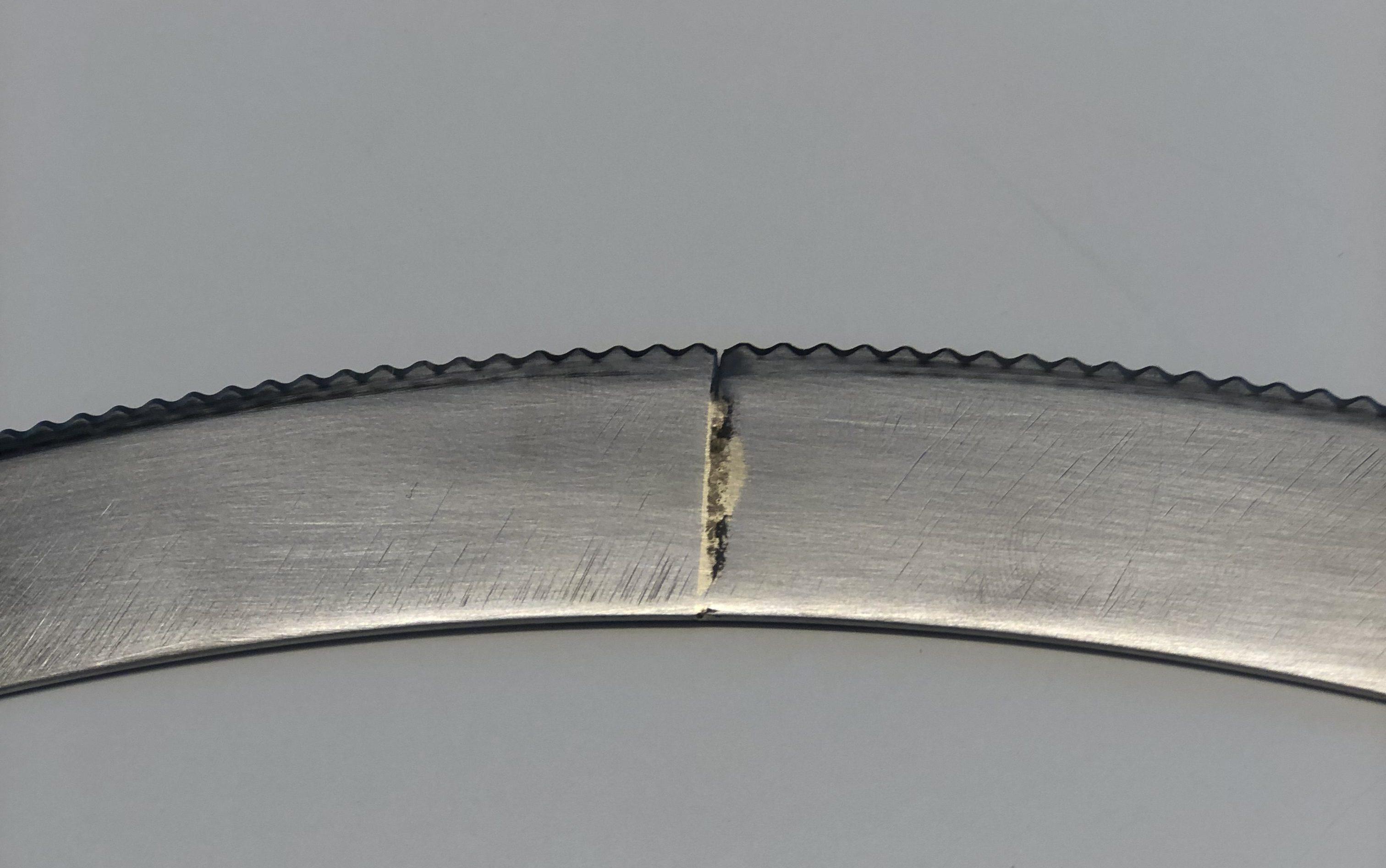 Lödsvetsad rotationskniv